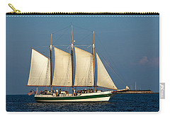 Schooner By Fort Sumter Carry-all Pouch