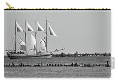 Schooner On Lake Michigan No. 1-1 Carry-all Pouch