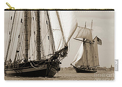 Schooner Pride Of Baltimore And Lynx Carry-all Pouch