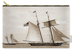 Schooners Pride Of Baltimore And Lynx Carry-all Pouch