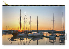 Schooners Sunburst Carry-all Pouch by Angelo Marcialis