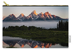 Schwabacher Landing Sunrise Carry-all Pouch by Serge Skiba