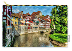 Carry-all Pouch featuring the photograph Schwabish Hall by David Morefield