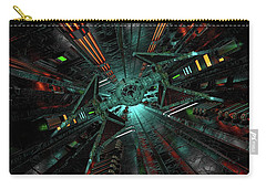 Sci Fi Tie Fighter Runway Carry-all Pouch