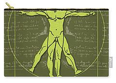 Science Posters - Leonardo Da Vinci - Artist, Inventor, Mathematician Carry-all Pouch