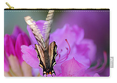 Carry-all Pouch featuring the photograph Scissorwings by Susan Capuano