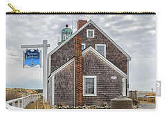 Scituate Lighthouse And Us Lighthouse Service Bell Carry-all Pouch