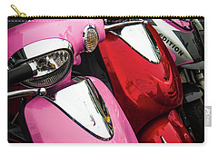 Carry-all Pouch featuring the photograph Scooters by Samuel M Purvis III