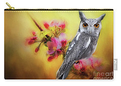 Scops Owl Carry-all Pouch by Suzanne Handel