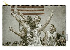 Carry-all Pouch featuring the photograph Scoring In Traffic by Ronald Santini