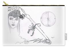 Scorpion Pen Carry-all Pouch by Dan Twyman