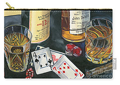 Scotch Cigars And Cards Carry-all Pouch