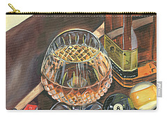 Scotch Cigars And Pool Carry-all Pouch
