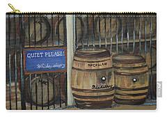 Scotch Whiskey - Barrels - Macallan Carry-all Pouch by Jan Dappen