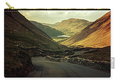 Scotland At The Sunset Carry-all Pouch by Jaroslaw Blaminsky