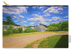 Carry-all Pouch featuring the photograph Scott Farm Vista by Tom Singleton