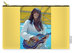 Scott Gorham Of Thin Lizzy Black Rose Tour At Day On The Green 4th Of July 1979 - 1st Color Release Carry-all Pouch
