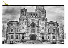 Carry-all Pouch featuring the photograph Scottish Rite Cathedral by Howard Salmon