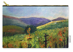 Scotts Vineyard Carry-all Pouch by Donna Walsh