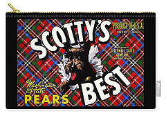 Scotty's Best Washington State Pears Carry-all Pouch by Peter Gumaer Ogden