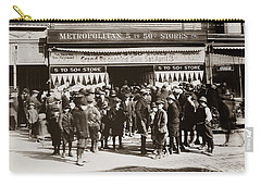Scranton Pa Metropolitan 5 To 50 Cent Store Early 1900s Carry-all Pouch