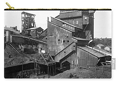 Scranton Pennsylvania Coal Mining - C 1905 Carry-all Pouch