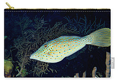 Carry-all Pouch featuring the photograph Scrawled Filefish by Jean Noren