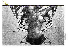Scream Of A Butterfly II Carry-all Pouch