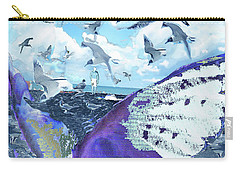 Scream Of The Gulls Carry-all Pouch
