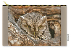 Screech Owl On Spring Creek Carry-all Pouch