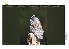 Screech Owl Profile Carry-all Pouch