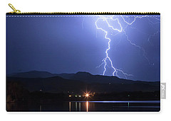 Carry-all Pouch featuring the photograph Scribble In The Night by James BO Insogna