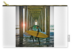 Scripps Pier Surfers Carry-all Pouch