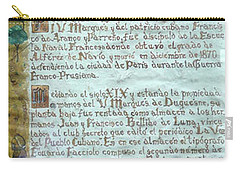 Script Of A Priest Carry-all Pouch