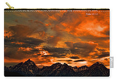 Scripture And Picture Psalm 121 1 2 Carry-all Pouch
