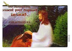 Scripture Art   Native Prayer Carry-all Pouch