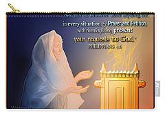 Scripture Art   Watchman's Prayer Carry-all Pouch