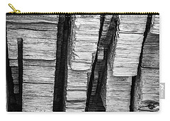 Sculpted Log Carry-all Pouch