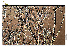 Sculpted Tree Branches Carry-all Pouch
