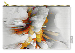 Carry-all Pouch featuring the digital art Sculptural Series Digital Painting 22.120210 by Kris Haas