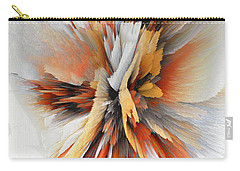 Carry-all Pouch featuring the digital art Sculptural Series Digital Painting 22.120210eext290lsqx2 by Kris Haas