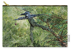 Carry-all Pouch featuring the digital art Sculpture At The Living Desert Palm Desert Ca by Sherri Of Palm Springs