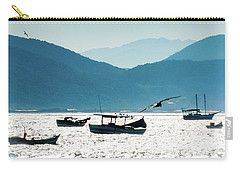 Sea And Freedom Carry-all Pouch by Martin Lopreiato