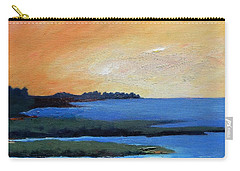 Carry-all Pouch featuring the painting Sea And Sky by Gary Coleman