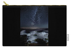 Sea And Starscape At Schoodic Point Carry-all Pouch