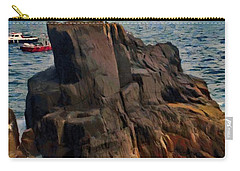 Sea And Stone Carry-all Pouch by Jeff Kolker