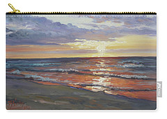 Sea Beach 8 - Baltic Sunset Carry-all Pouch