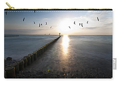Sea Birds Sunset. Carry-all Pouch