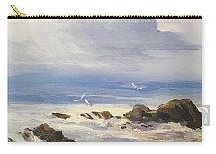 Carry-all Pouch featuring the painting Sea Breeze by Helen Harris