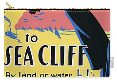 Sea Cliff Long Island Poster 1939 Carry-all Pouch